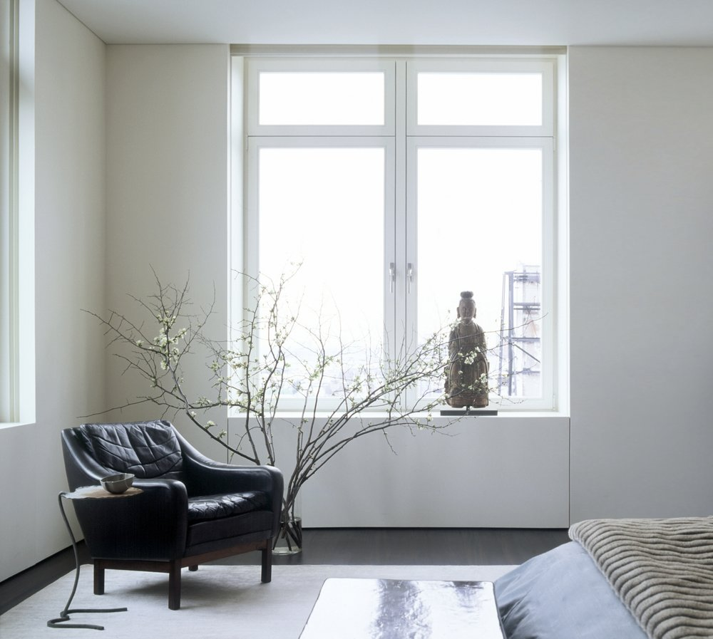 Laight Apartment Master Bedroom Window and Chair
