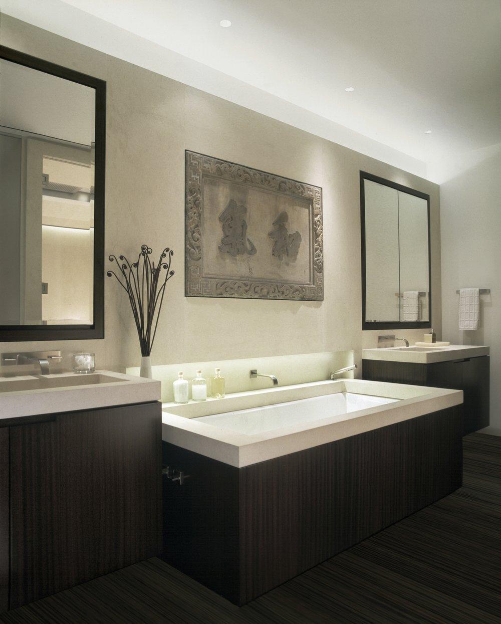 Laight Apartment Master Bathroom