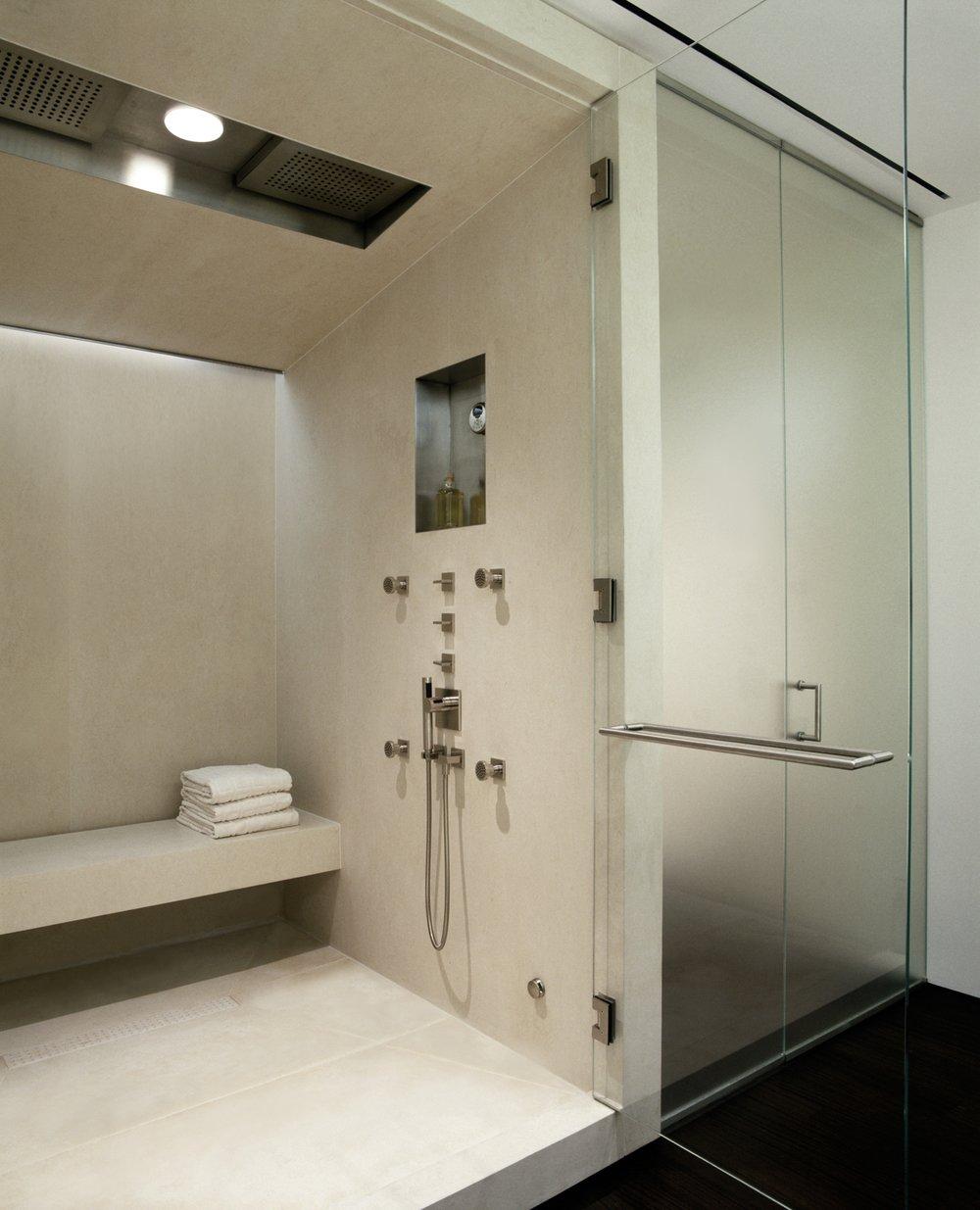 Laight Apartment Master Bathroom Shower