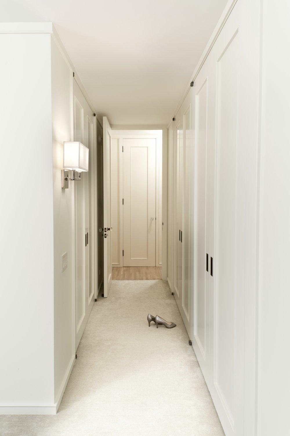 Lincoln Apartment Master Bedroom Corridor