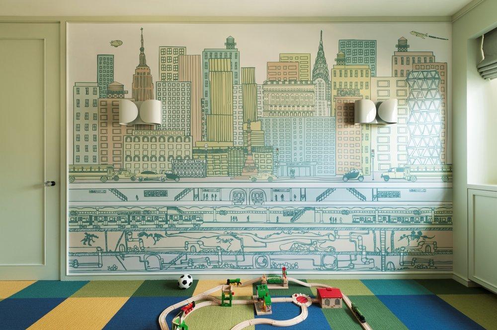 Lincoln Apartment Kid's Playroom