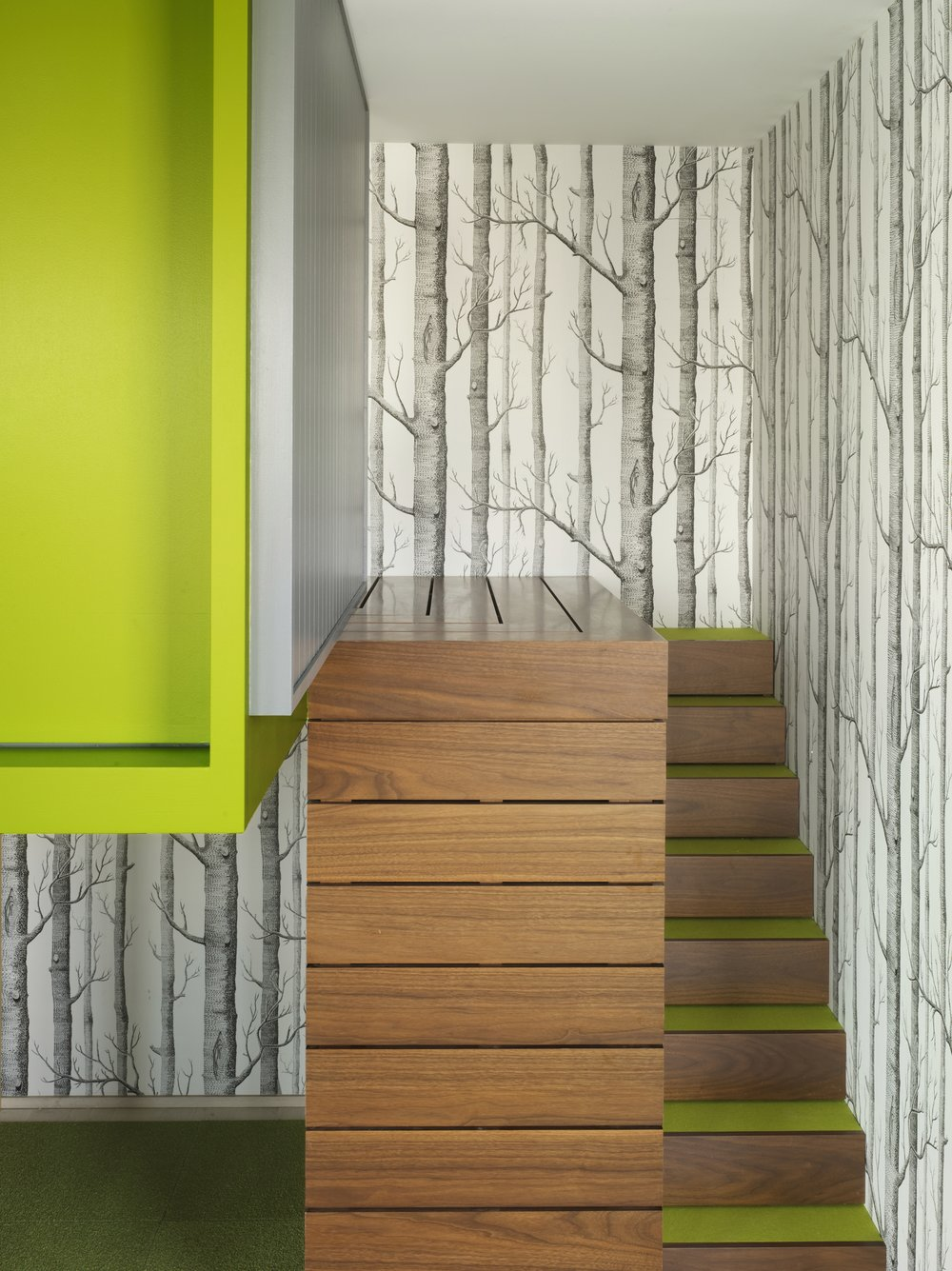 Bohemian Apartment Tree House Stairs