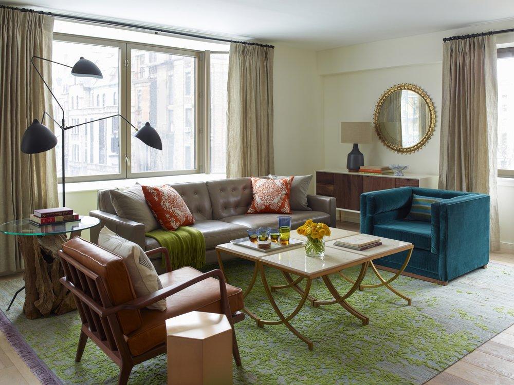 101 W 87th Street Living Room