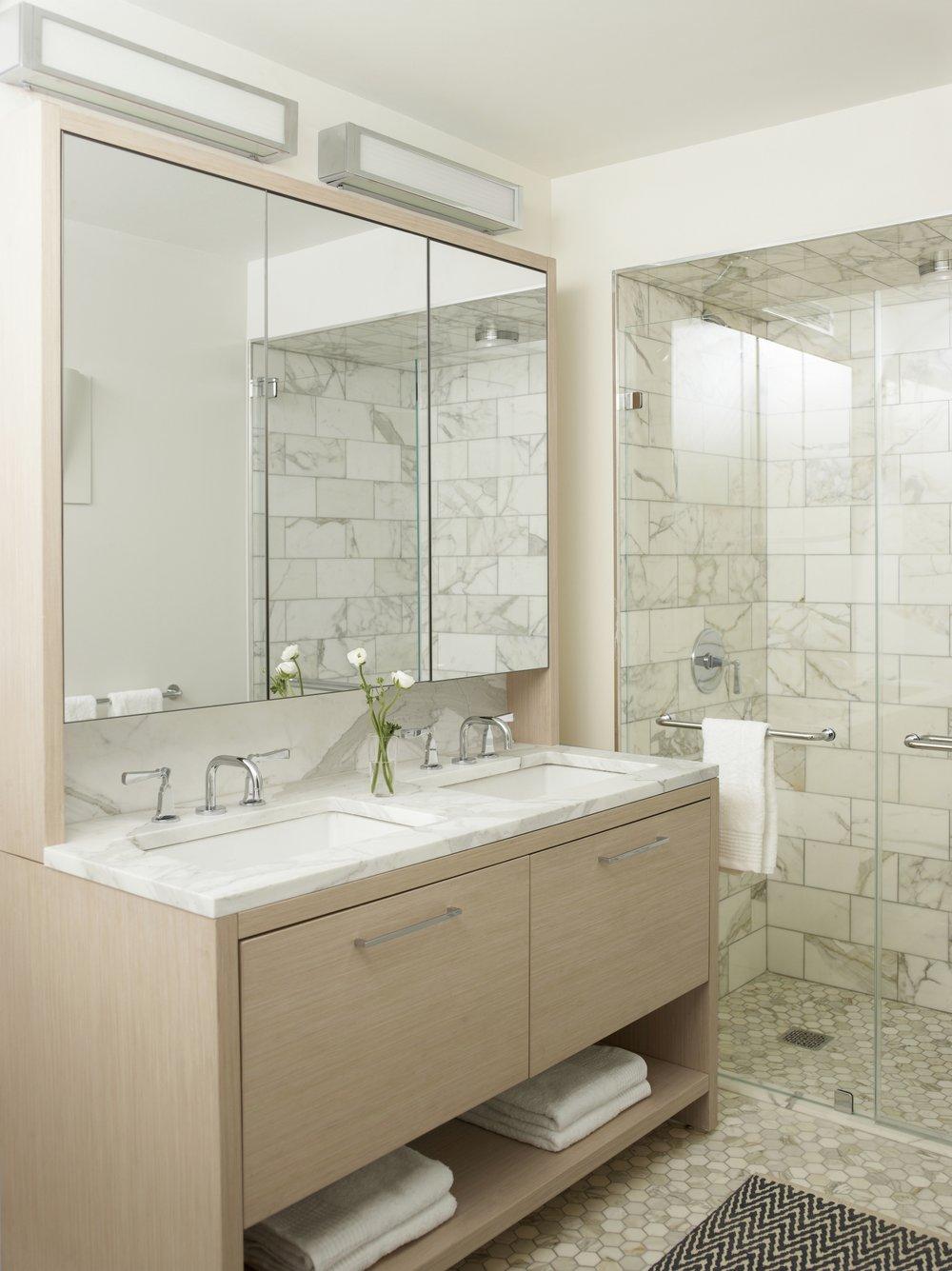 101 W 87th Street Master Bathroom
