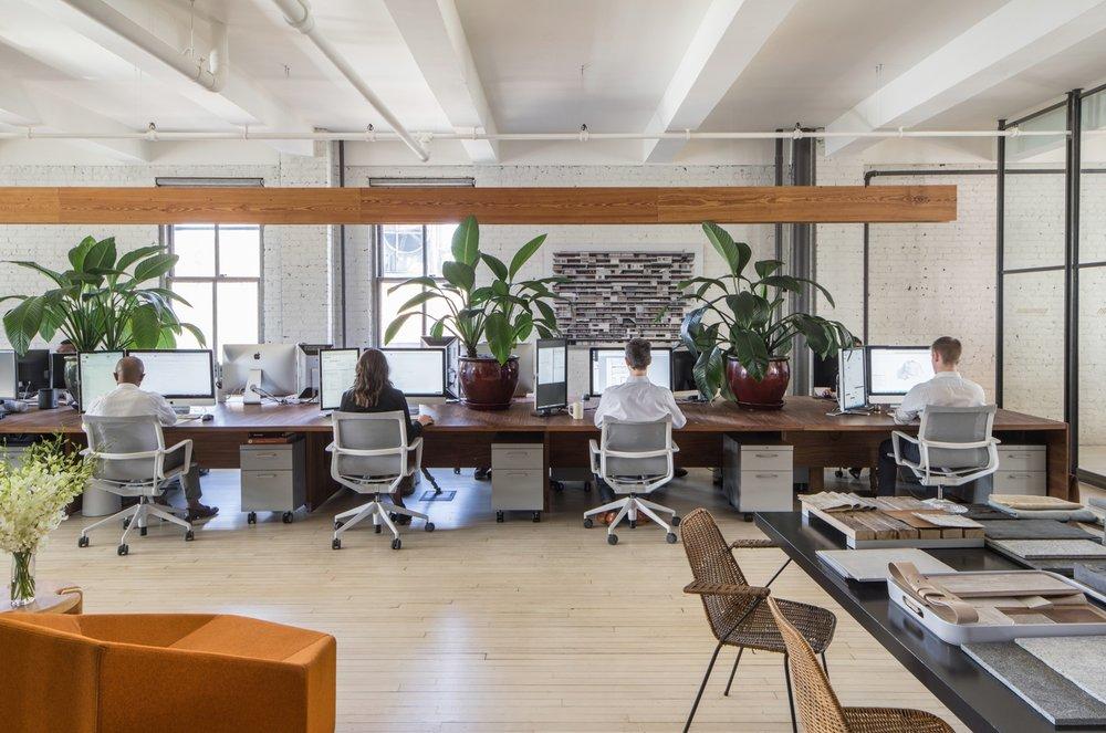 INC Architecture & Design Desk Space