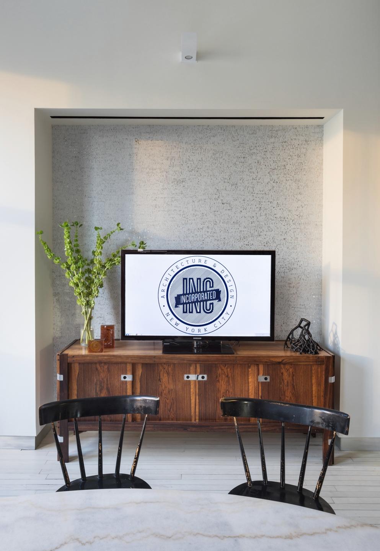 INC Architecture & Design TV Credenza and Table