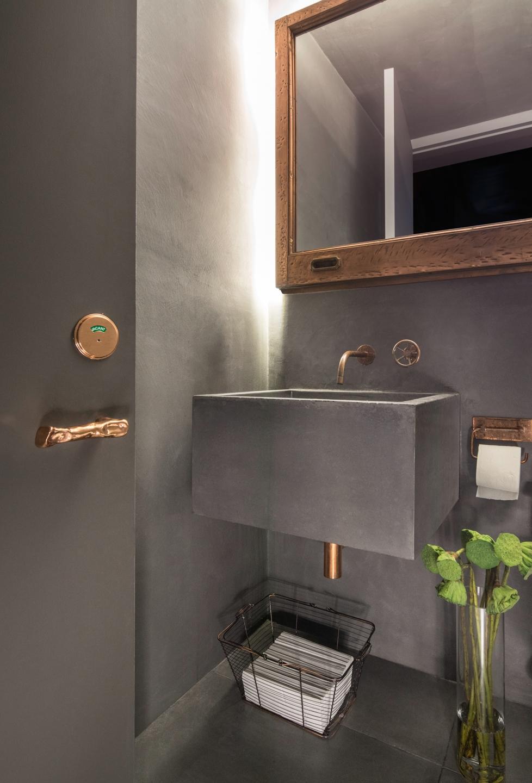 INC Architecture & Design Bathroom Door and Sink
