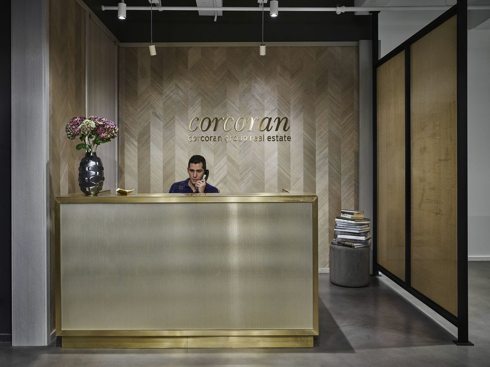 Corcoran Chelsea Reception Desk