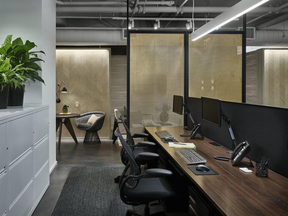 Corcoran Chelsea Desk Area