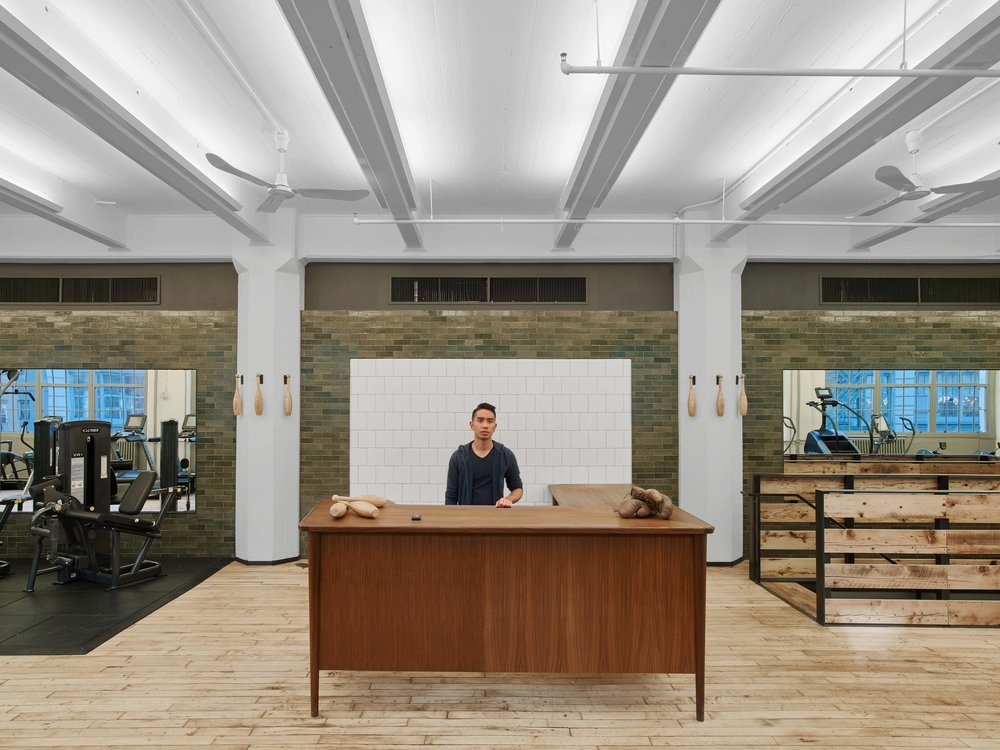 Industry City Athletic Club Front Desk
