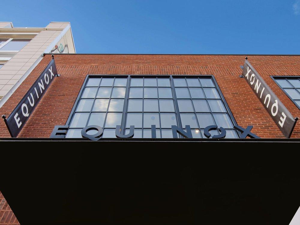 Equinox Williamsburg Exterior Signage