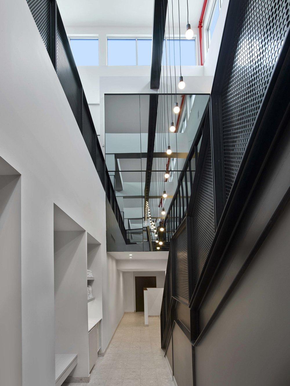 Equinox Williamsburg Locker Room Hallway