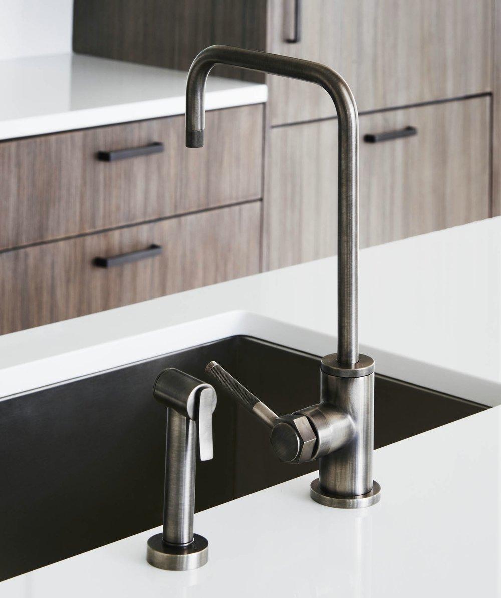 The Sutton Condominium Kitchen Sink Faucet