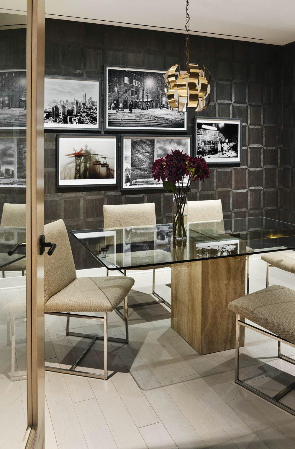 The Sutton Condominium Sales Office Conference Room
