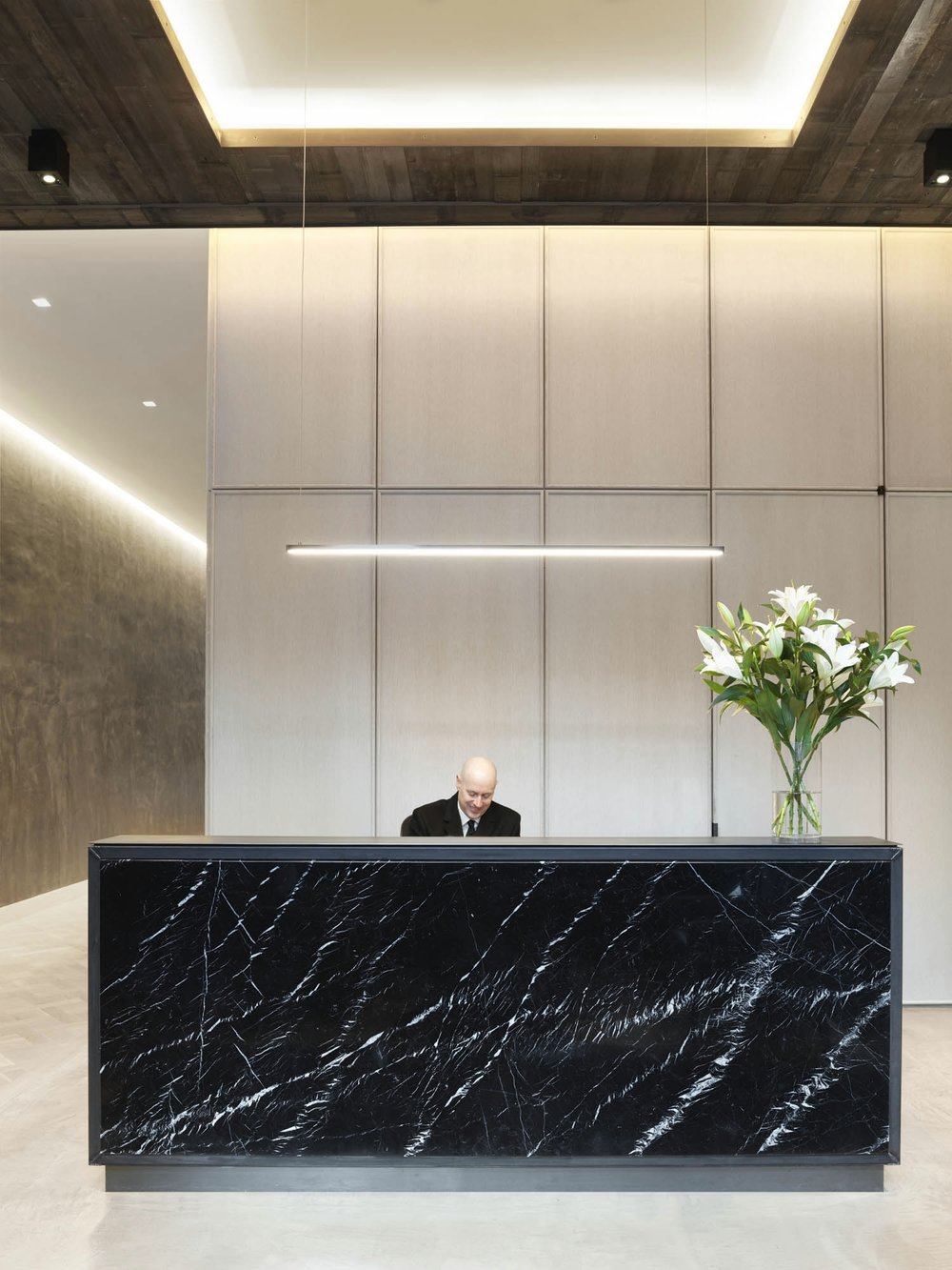 The Sutton Condominium Front Desk and Lobby