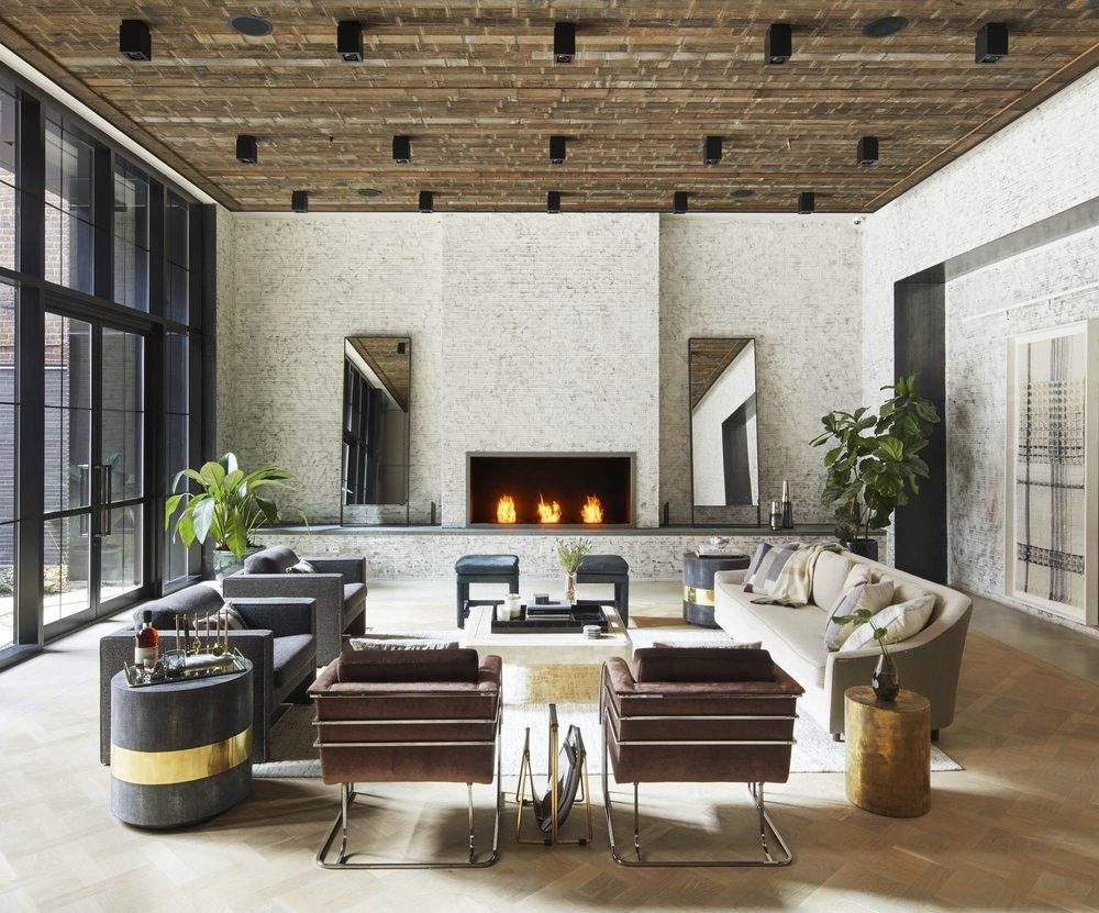 The Sutton Condominium Residents Lounge