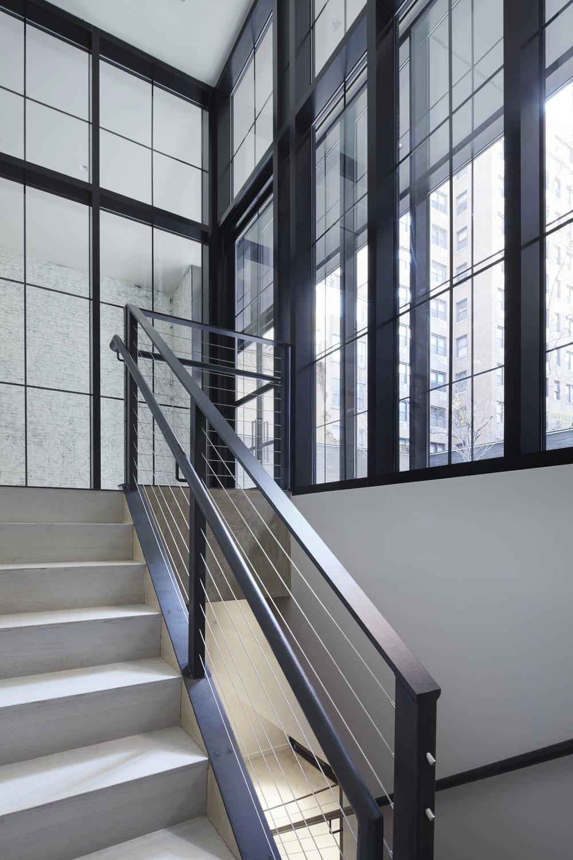 The Sutton Condominium Basement Stair