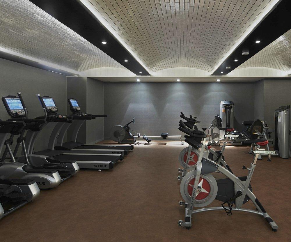 The Sutton Condominium Gym