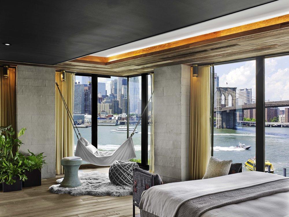 1 Hotel Brooklyn Bridge River House Suite