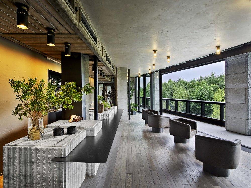 1 Hotel Brooklyn Bridge 2nd Floor Lounge Bar and Deck