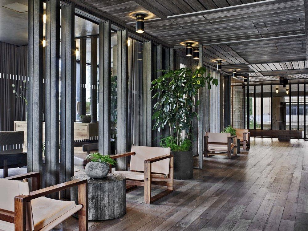 1 Hotel Brooklyn Bridge Meeting Rooms and Hallway