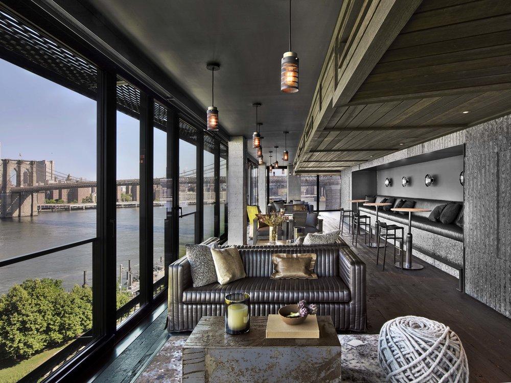 1 Hotel Brooklyn Bridge 10th Floor Bar