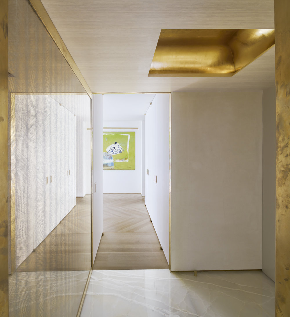 West 72nd Street Apartment Entrance and Hallway