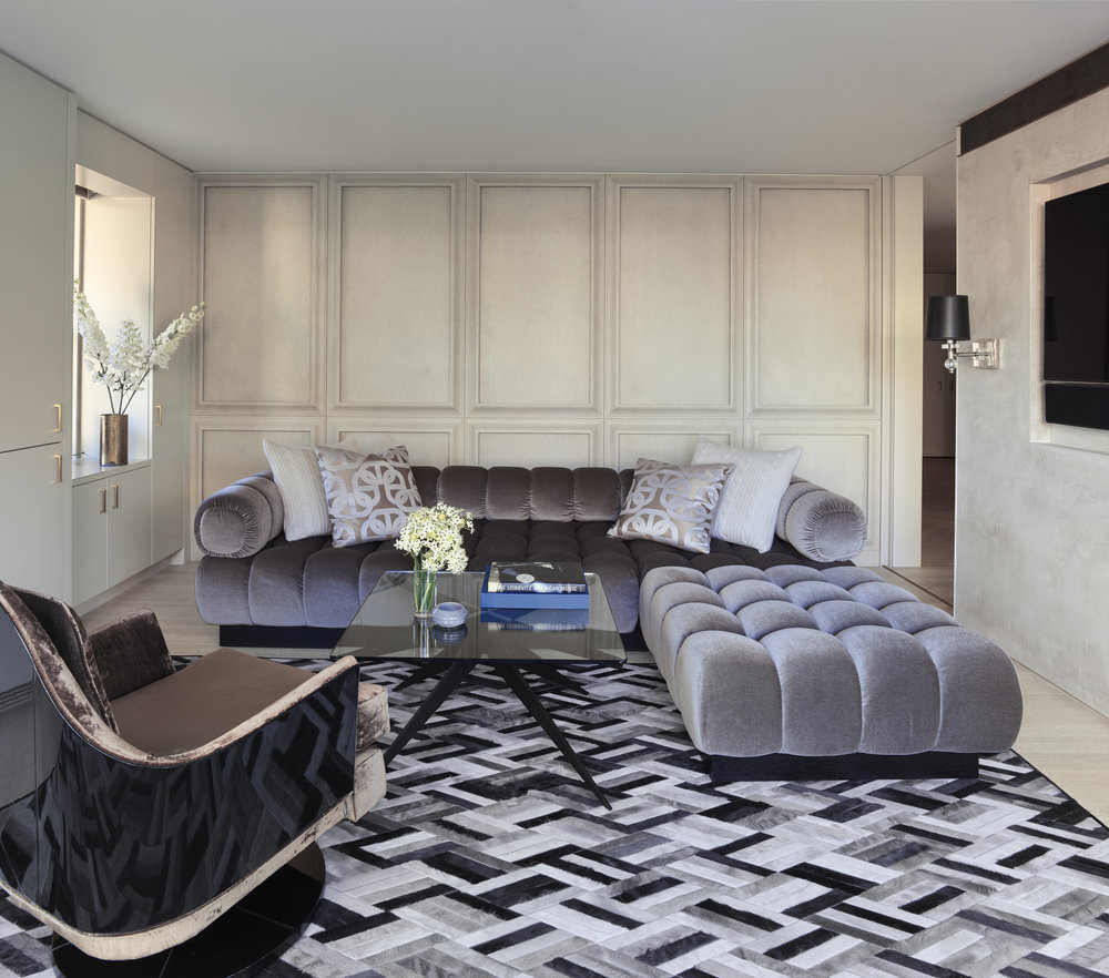 West 72nd Street Apartment Family Room