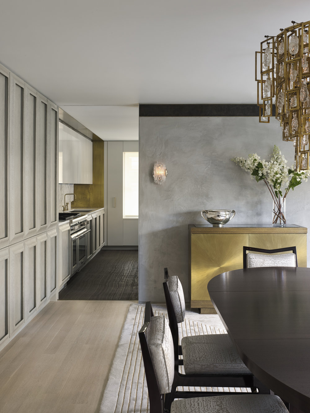 West 72nd Street Dining Room and Kitchen