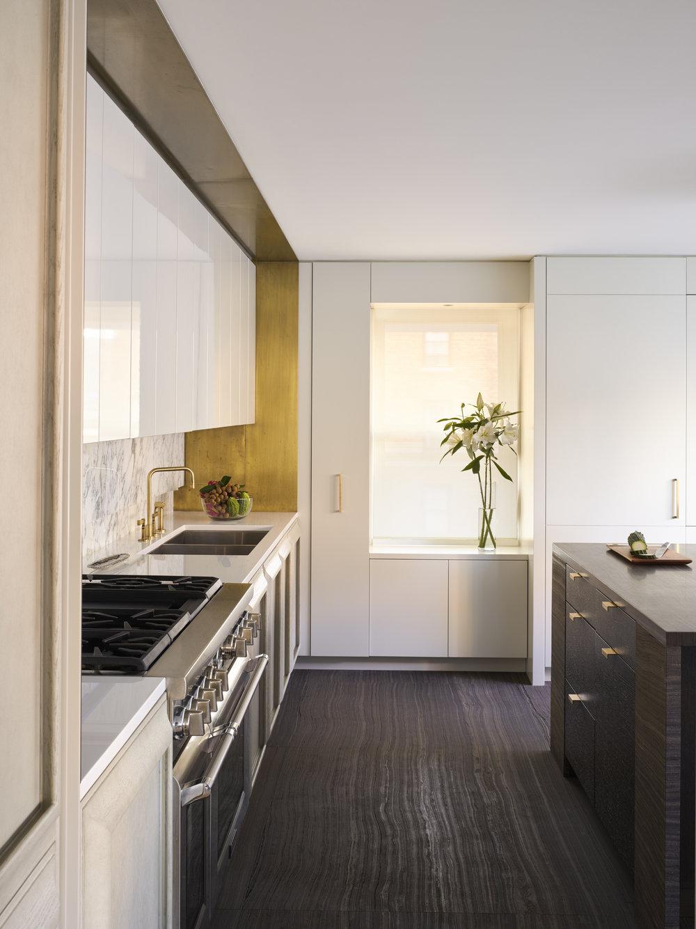 West 72nd Street Apartment Kitchen