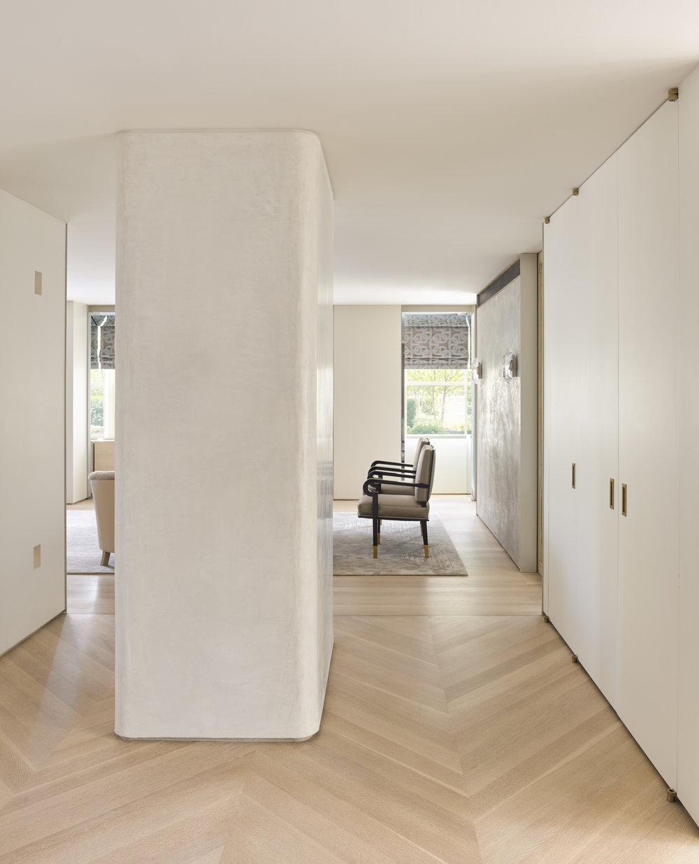 West 72nd Street Apartment Hallway