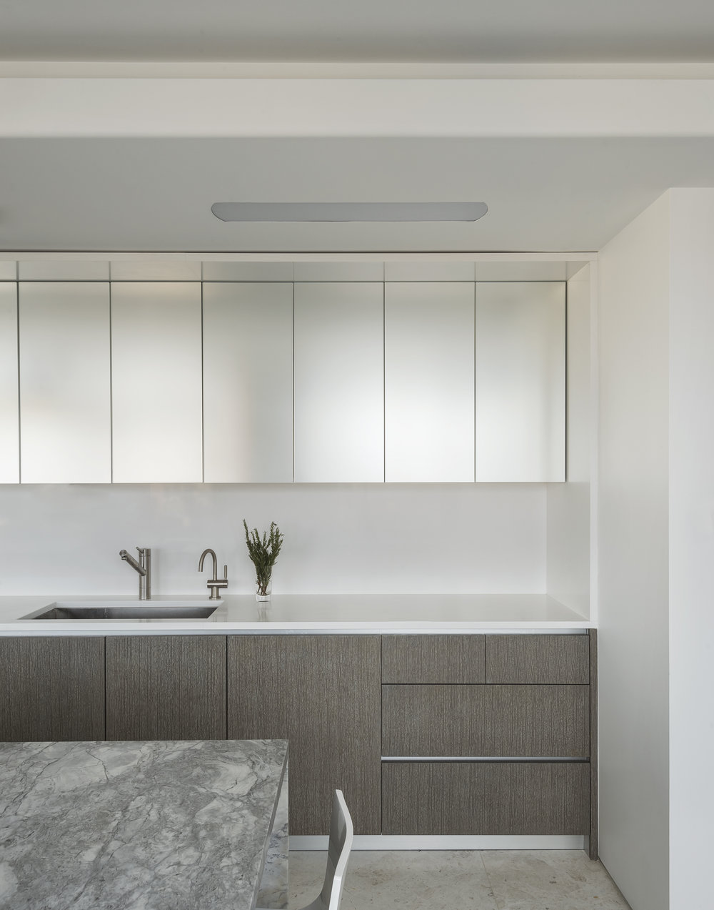 East 77th Street Apartment Kitchen