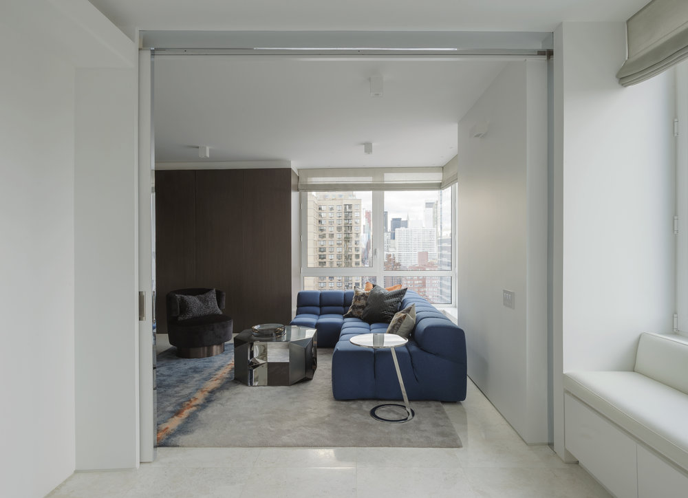East 77th Street Apartment Family Room