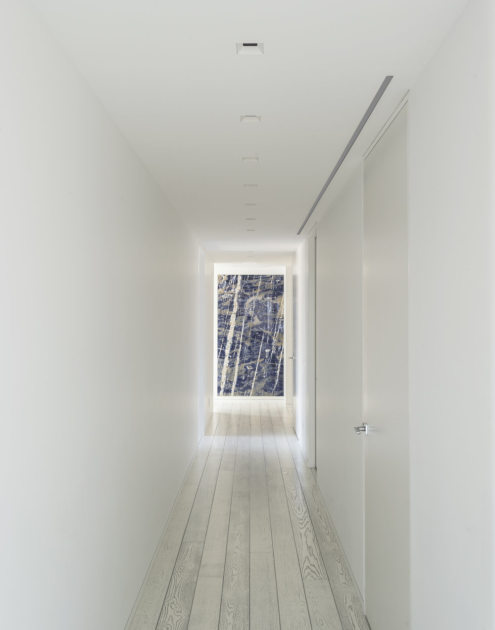 East 77th Street Apartment Hallway