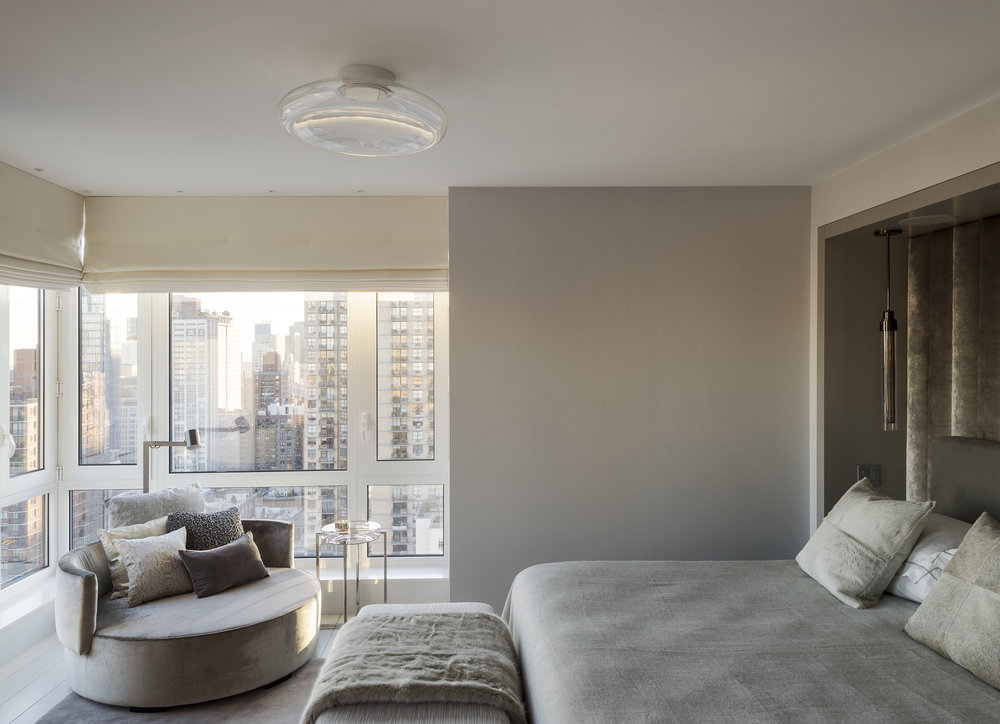 East 77th Street Apartment Master Bedroom