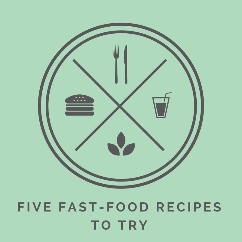 healthy fast food recipes to try