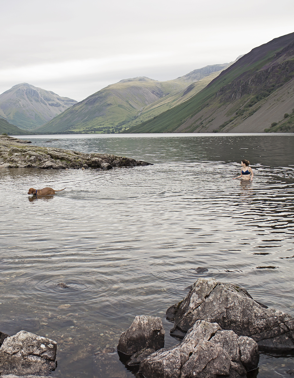 travel lake district wast water vizsla blogger 8