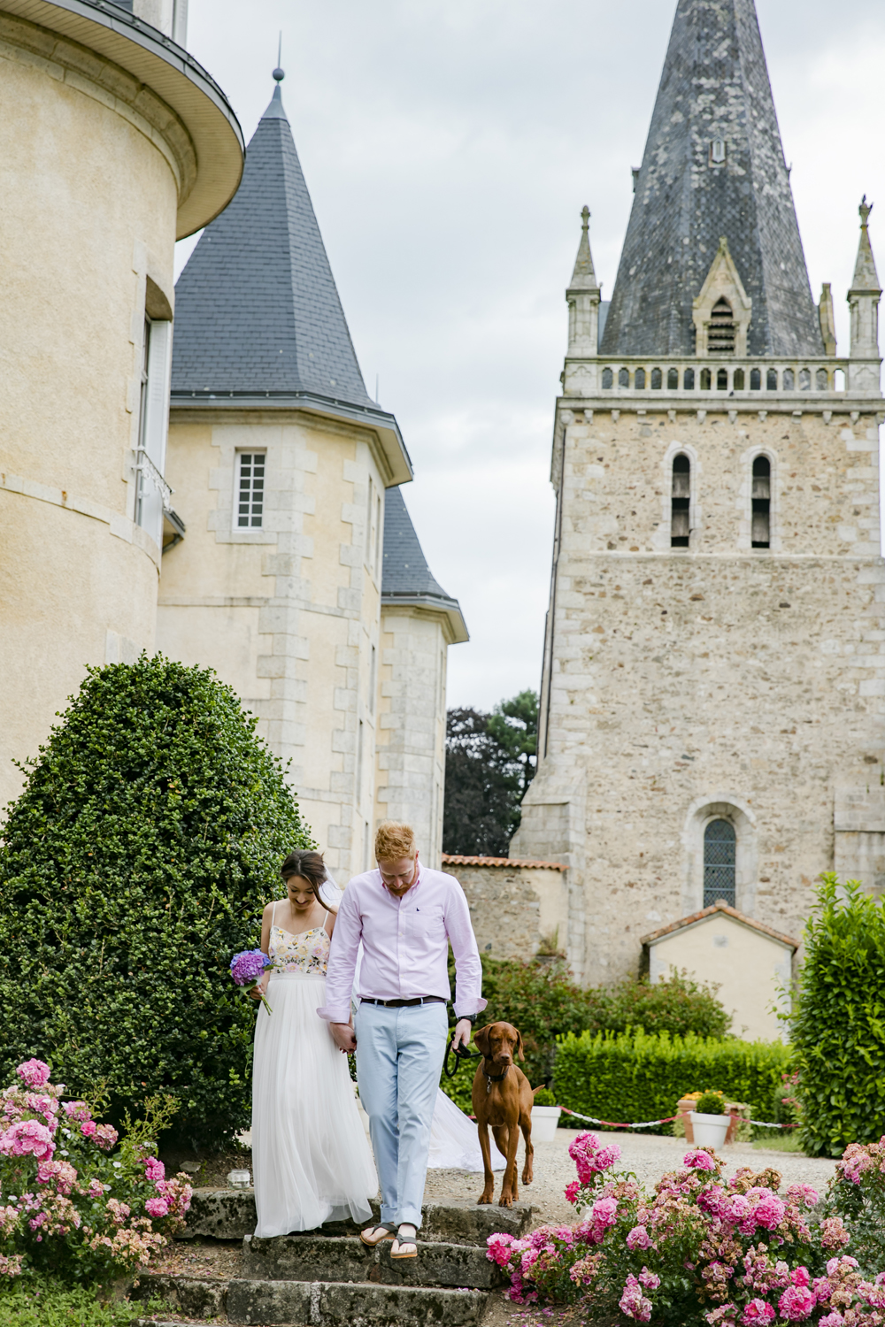 destination wedding chateau de la bergeliere la flocelliere 2