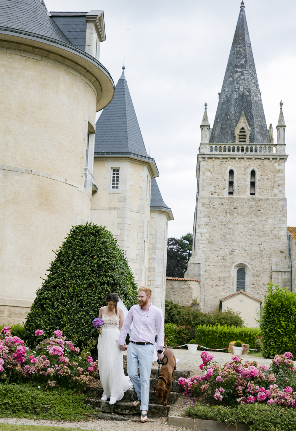 destination wedding chateau de la bergeliere la flocelliere 3