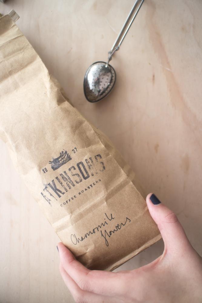 Atkins Coffee Hopper Subscription Gift Camomile Tea