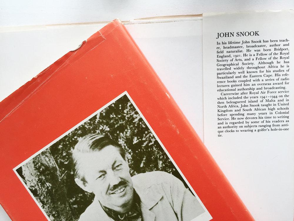 John Snook FRSA writer and author