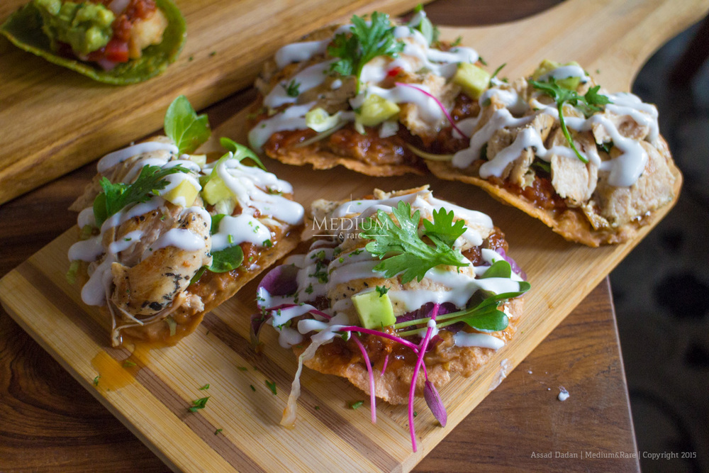 Chicken Tostados
