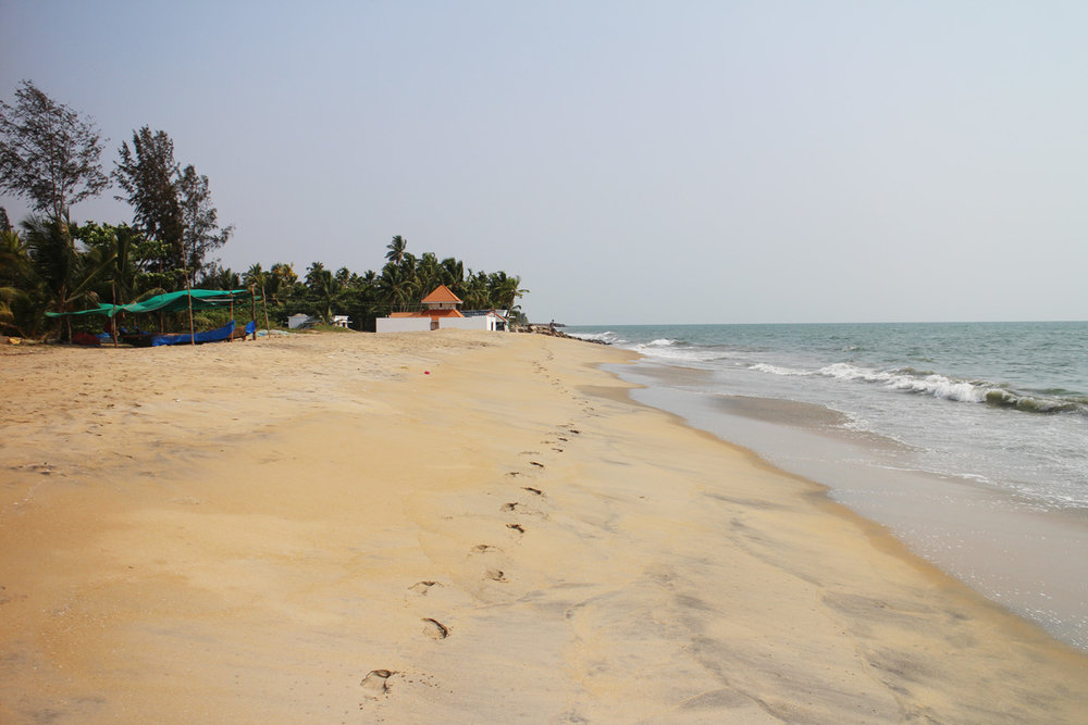 Njarackal   Beach on Vypin Island