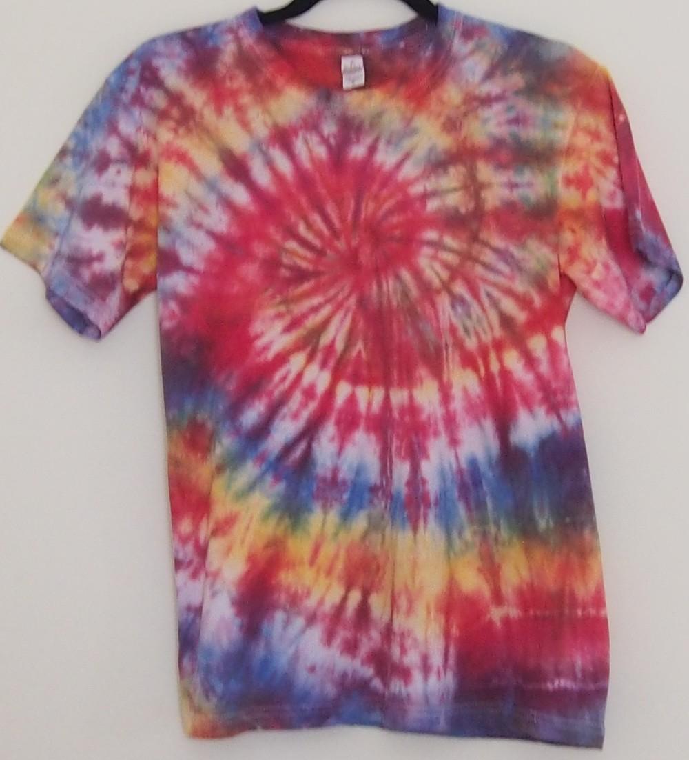 Tri colour tie dye