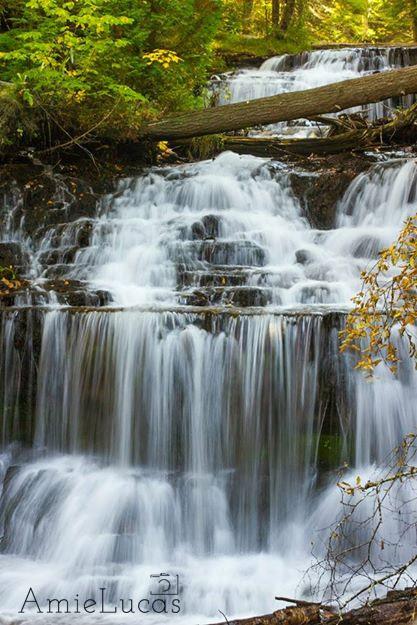 Wagner Falls, Munising.