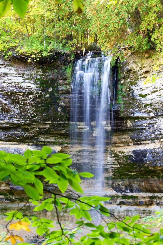 Munising Falls, Munising.