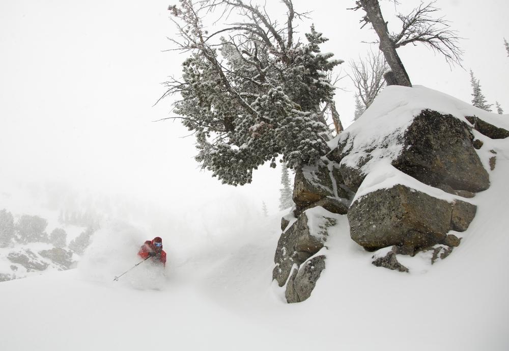 Montana's best deep backcountry powder.