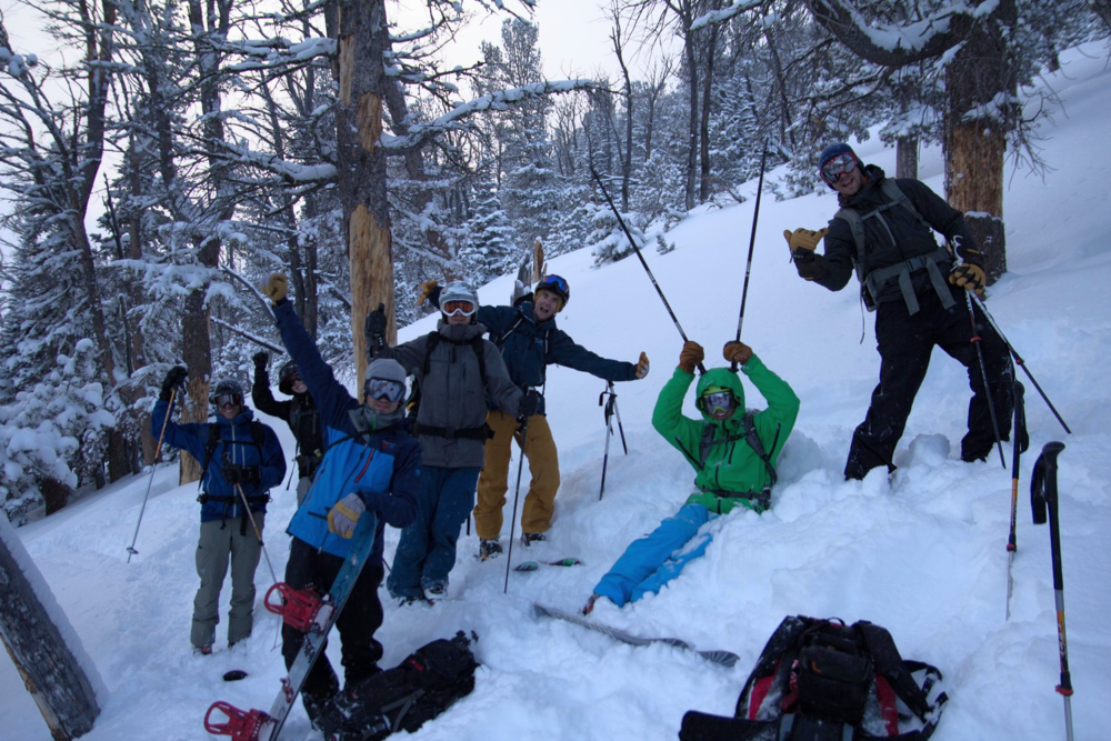 Avalanche education is more fun at Montana's Bell Lake Yurt!