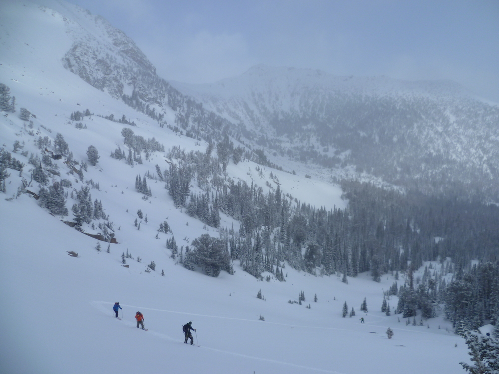 Montana's best guided backcountry skiing and splitboarding.