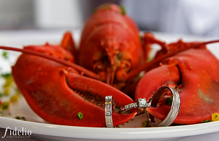 lobster wedding